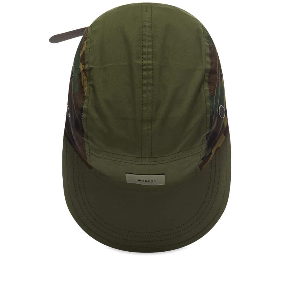WTAPS T-5 01 Camo Panel Cap - Olive Drab