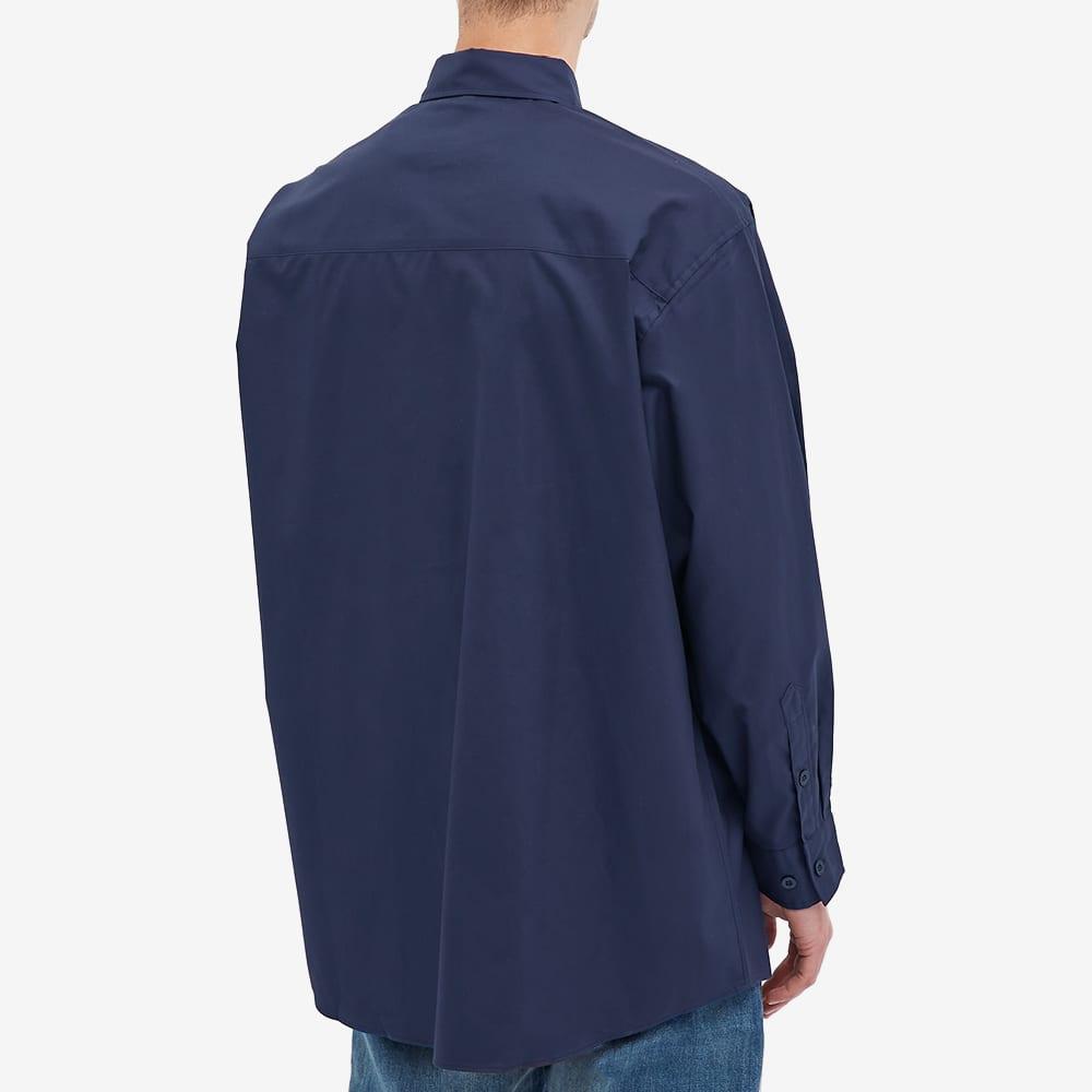 WTAPS Twill Button Down Shirt - Navy