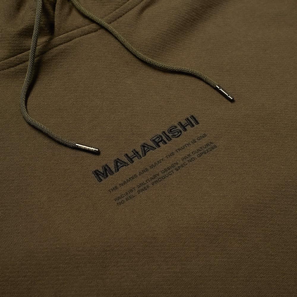 Maharishi Classic MILTYPE Popover Hoody - Mil Olive