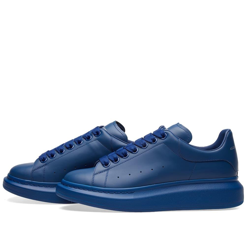 Alexander McQueen Wedge Sole Sneaker - Sky Blue