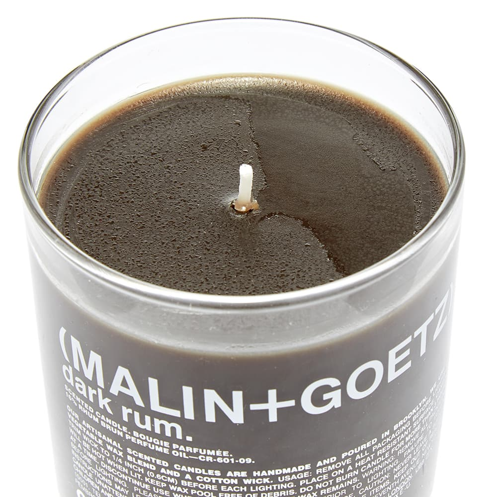 Malin + Goetz Table Candle - Dark Rum 260g