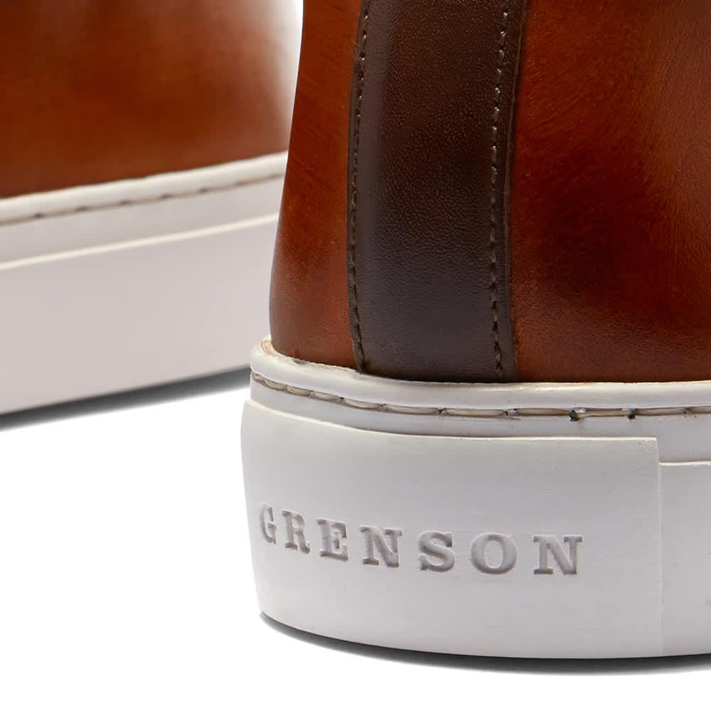 Grenson Sneaker 1 - Tan Hand Painted