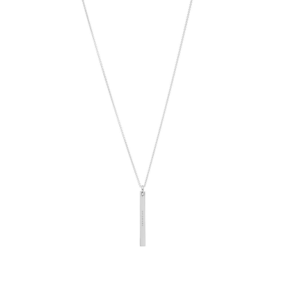 """Tom Wood 24.5"""" Cube Chain - Sterling Silver"""