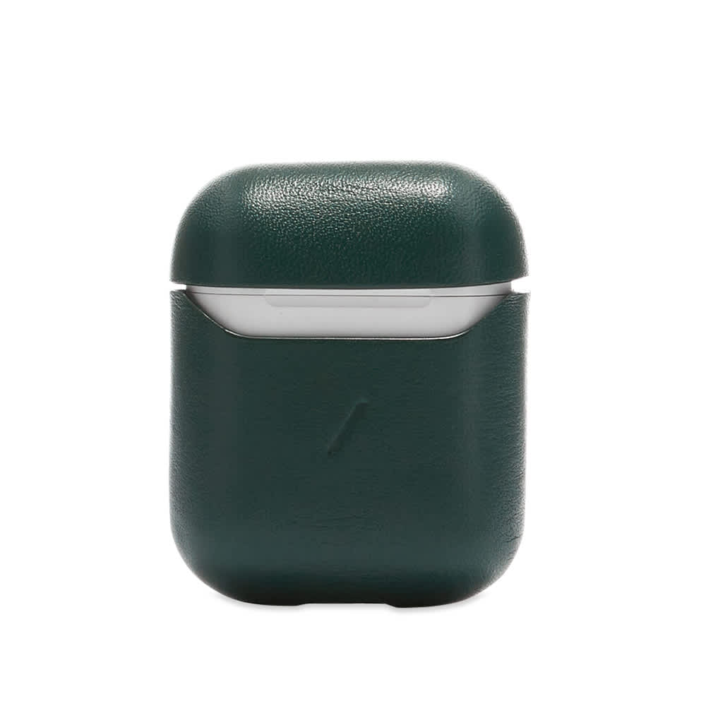 Native Union Leather Air-Pods Case - Green