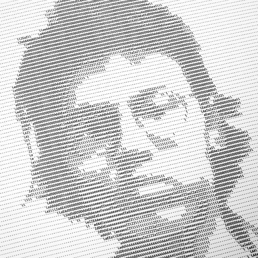 IDEA Davide Sorrenti Type Art Tee - White
