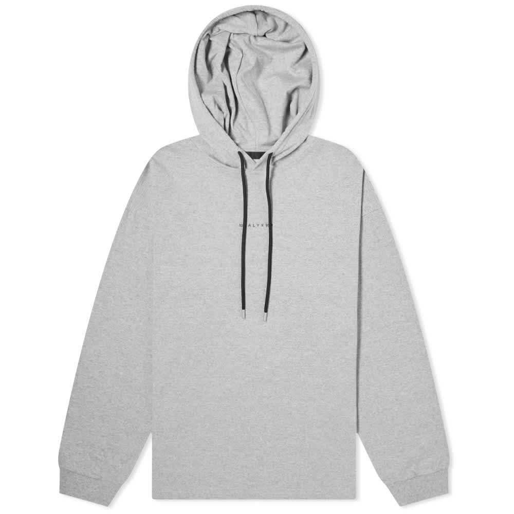 1017 ALYX 9SM Visual Hooded Tee - Grey