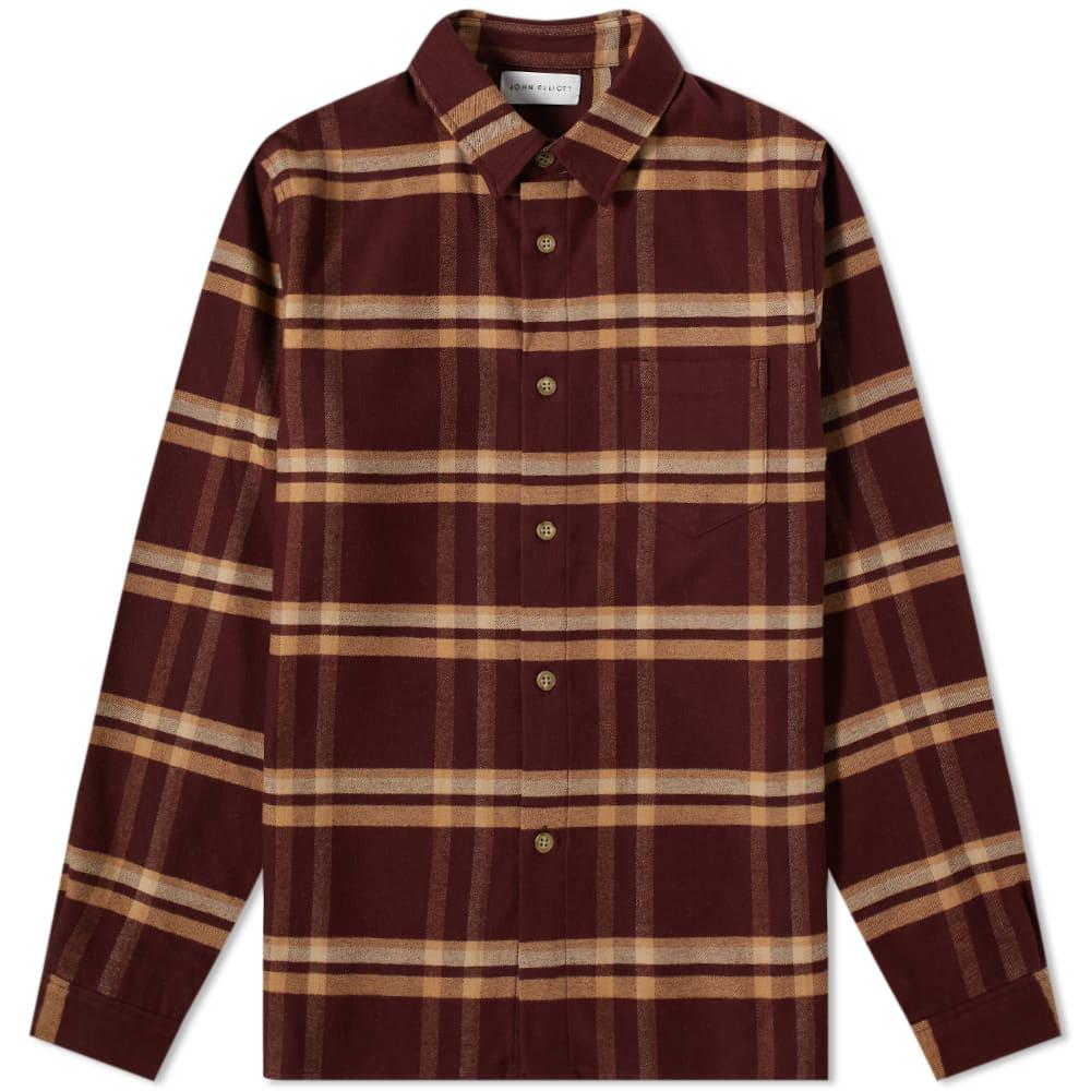 John Elliott Sly Cotton Straight Hem Shirt