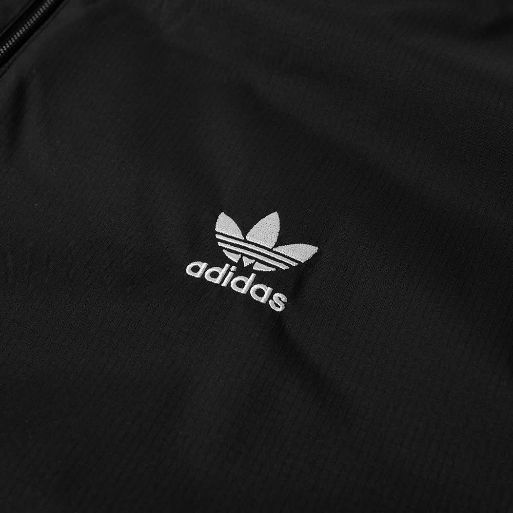 Adidas 3D Trefoil 3 Stripe Track Top - Black