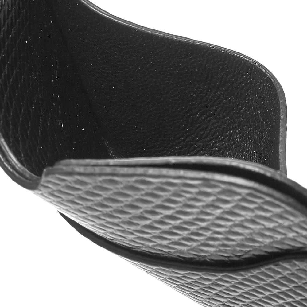 Acne Studios Elmas K Textured Card Holder - Black