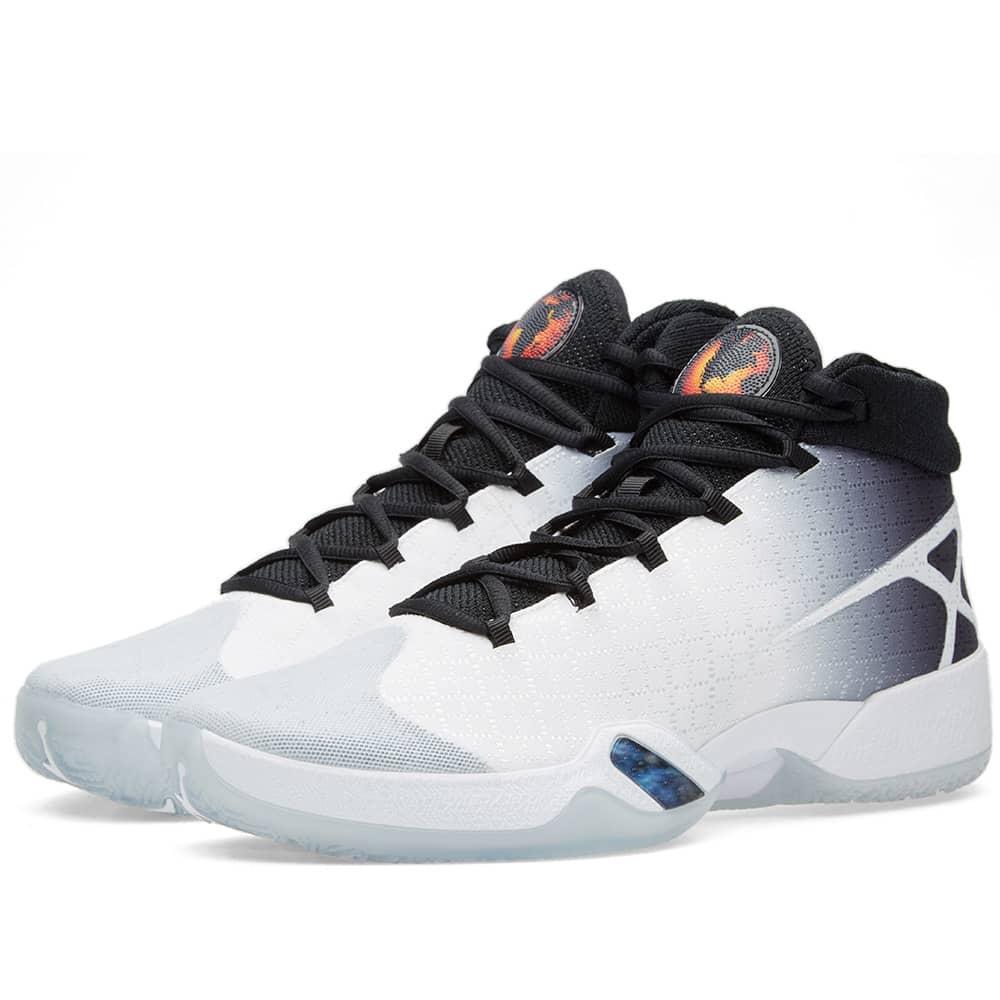 Nike Air Jordan XXX White, Black \u0026 Wolf