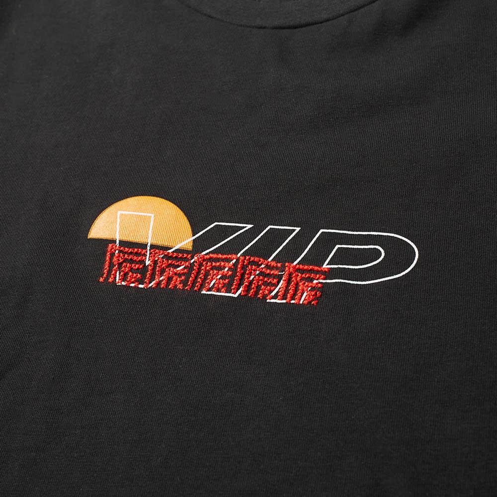 ADISH Long Sleeve VIP Embroidered Tee - Black