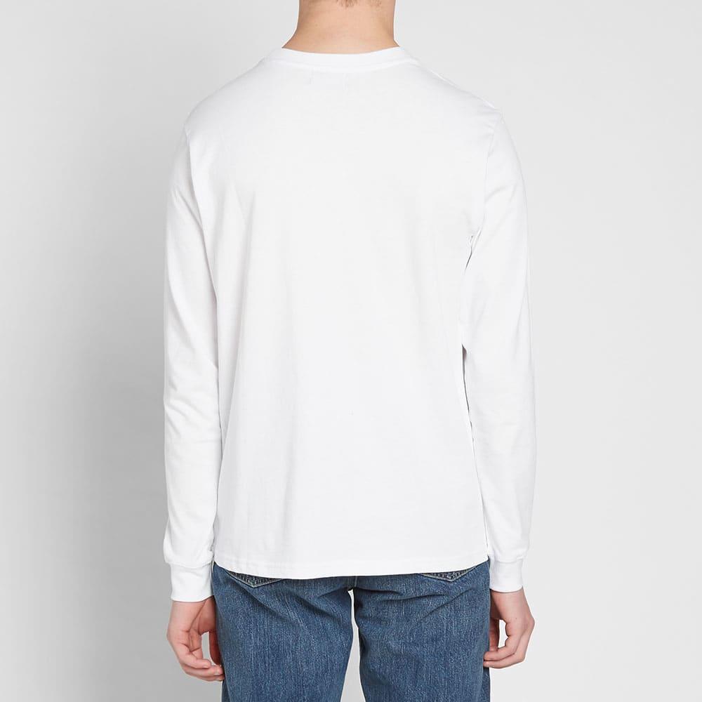 ADISH Long Sleeve VIP Embroidered Tee - White
