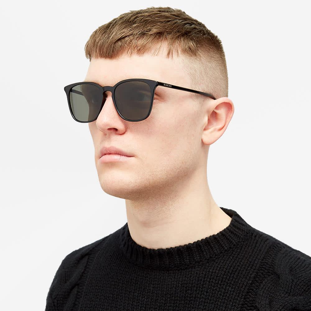 Gucci Ultra Light Acetate Sunglasses - Black & Grey