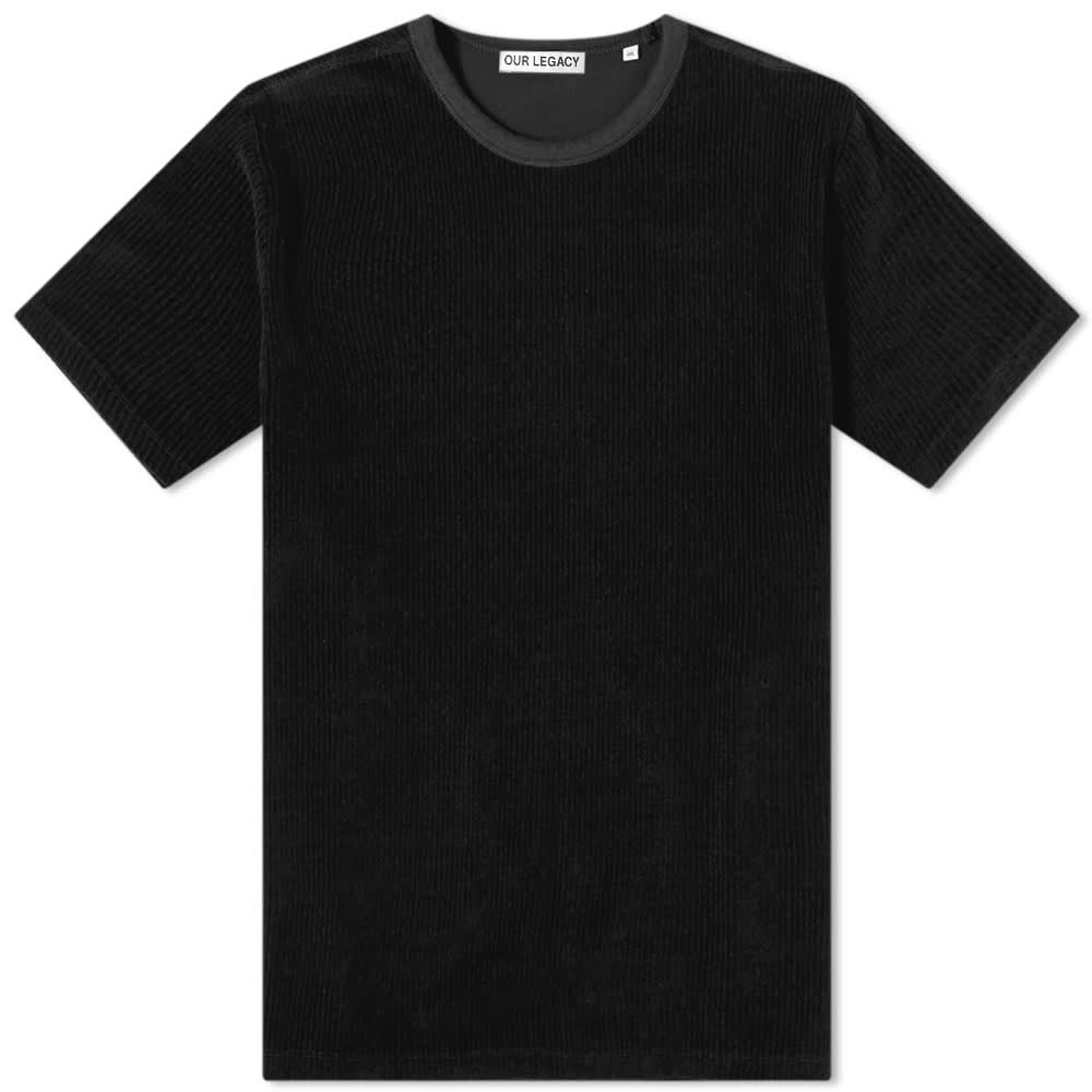 Our Legacy New Box Tee - Black Cord