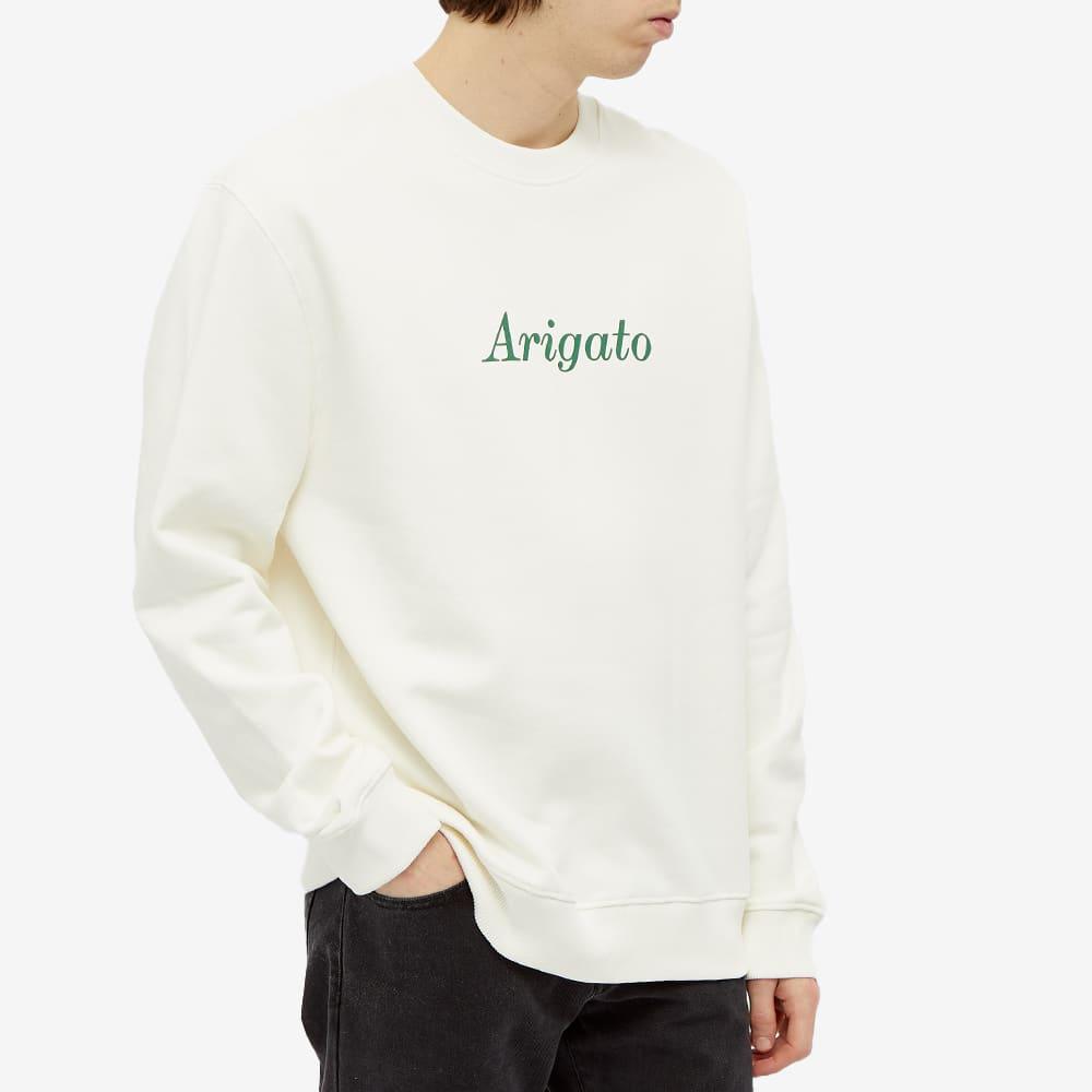 Axel Arigato Script Logo Crew Sweat - White