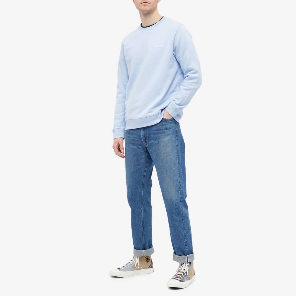 Norse Projects Vagn NP Logo Crew Sweat - END. Exclusive - Clouded Blue