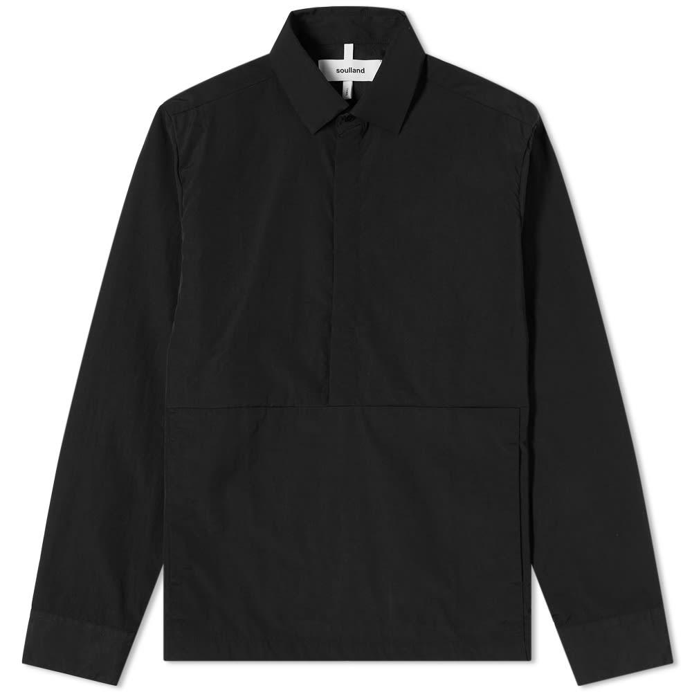 Soulland Ace Shirt - Black