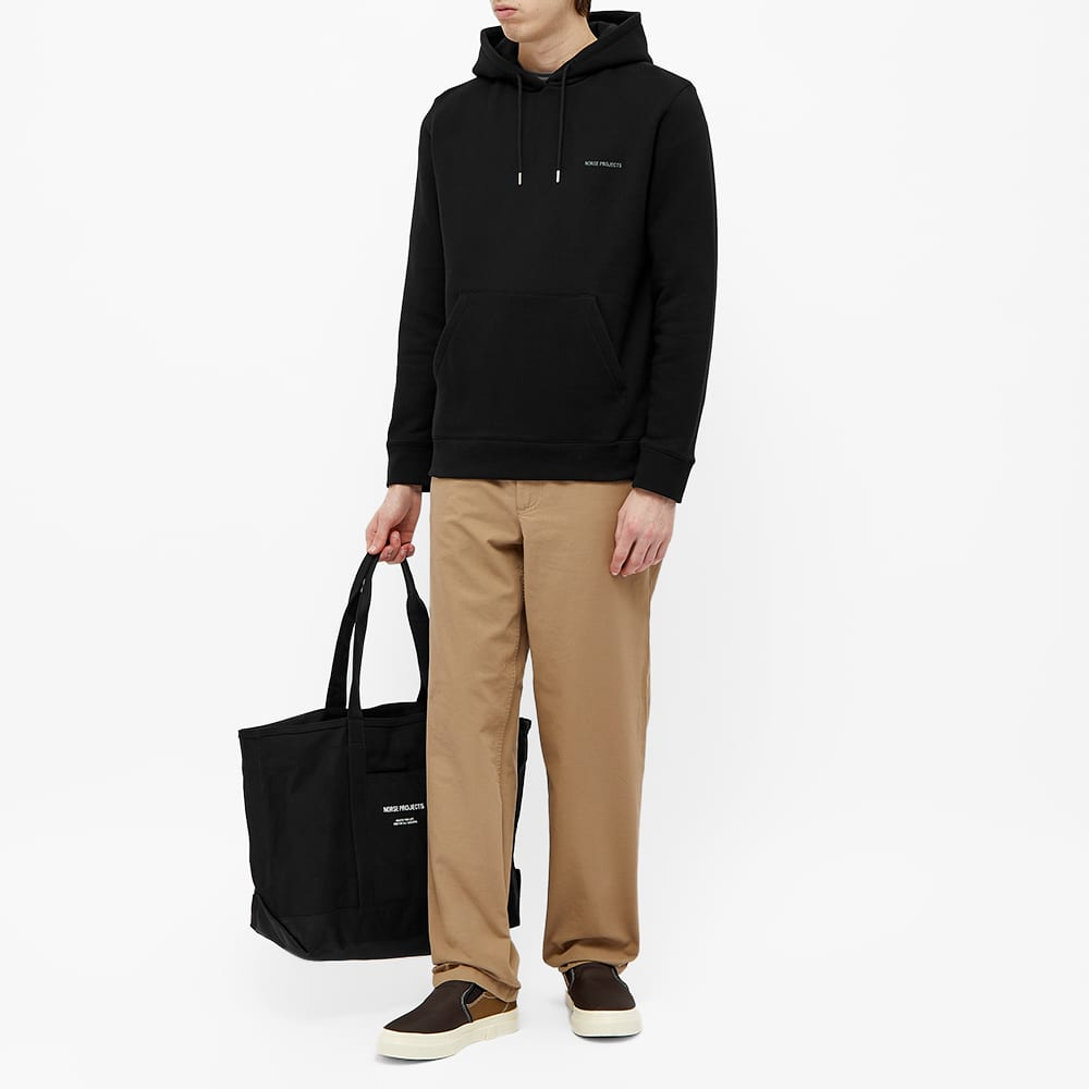 Norse Projects Vagn NP Logo Hoody - END. Exclusive - Black