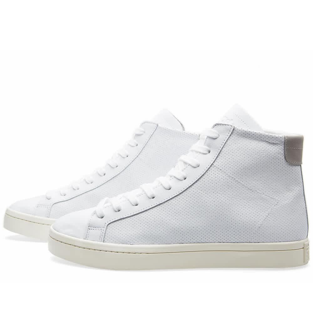Adidas CourtVantage Mid White \u0026 Solid