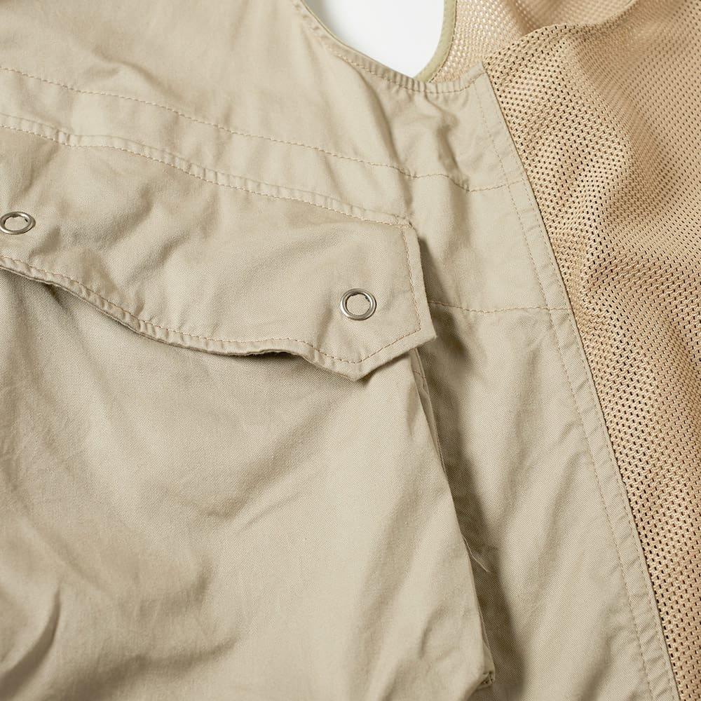 Engineered Garments Twill Field Vest - Khaki