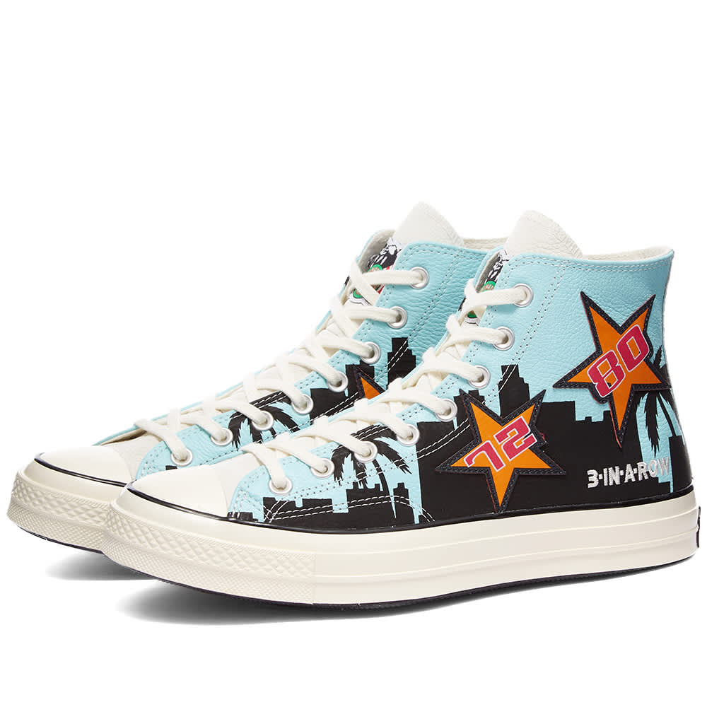 Converse x Chinatown Market Chuck Taylor 1970s Hi Lakers - Poolside