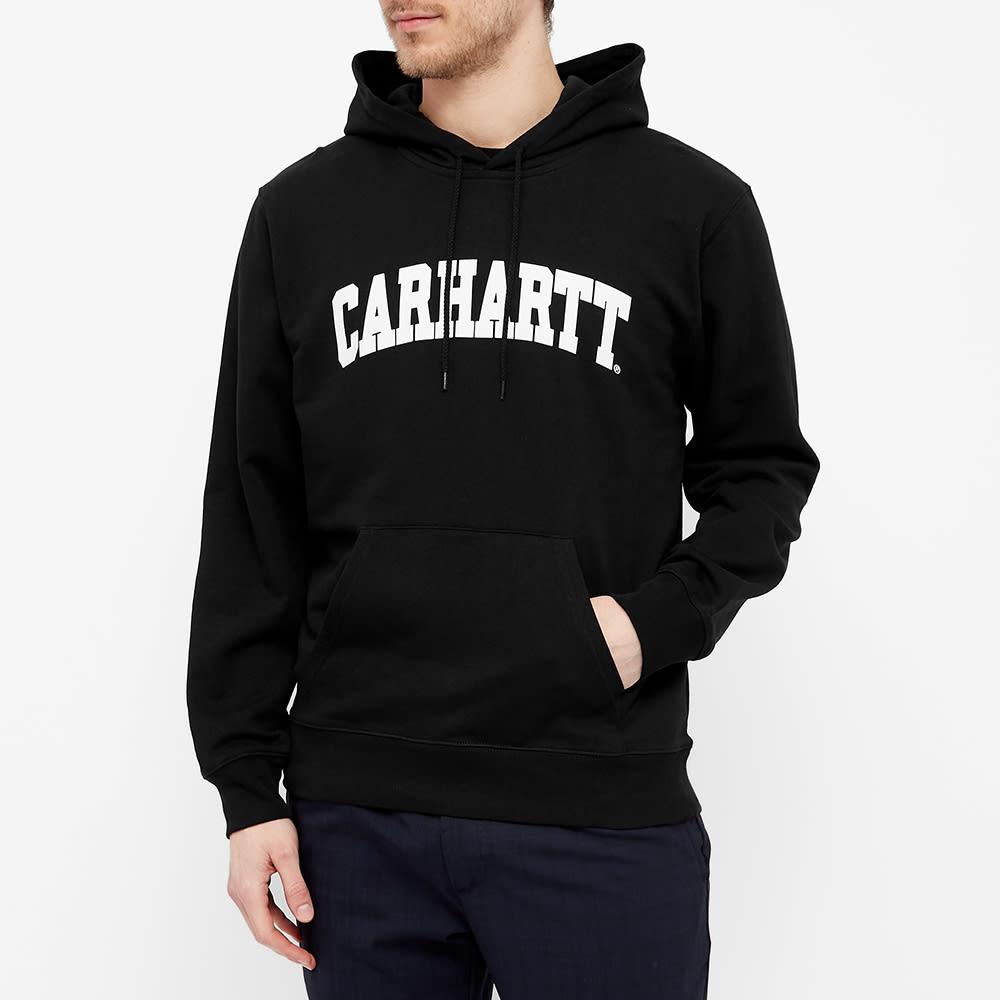 Carhartt WIP Hooded University Sweat - Black & White