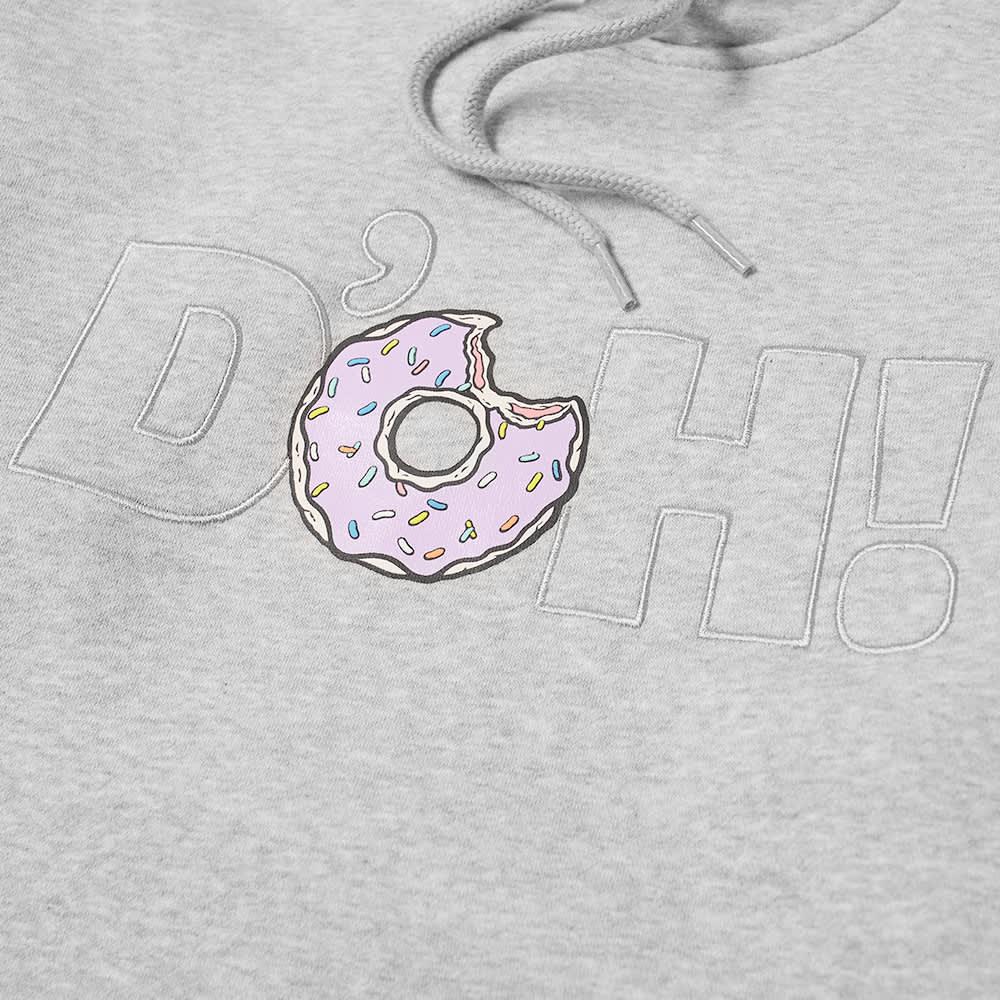 Adidas x The Simpsons Doughnut Hoody - Solid Grey
