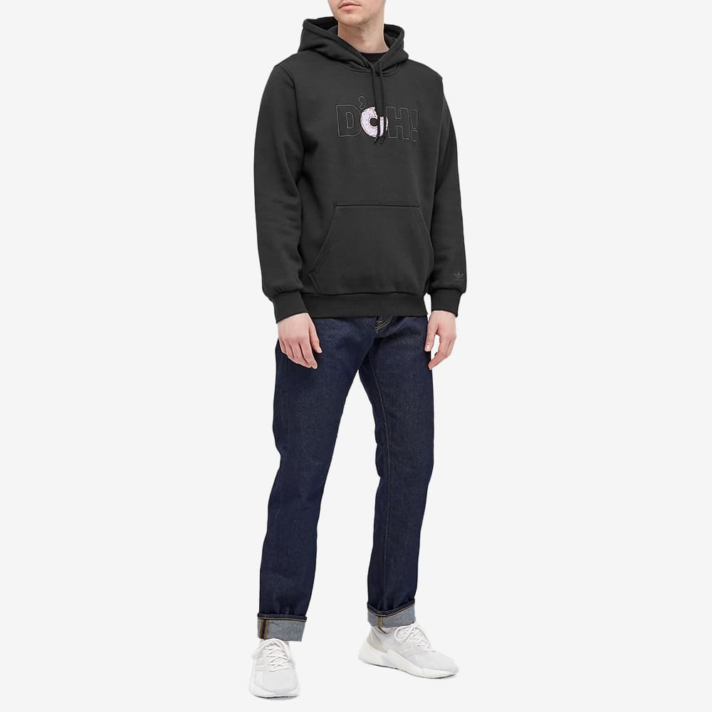 Adidas x The Simpsons Doughnut Hoody - Black