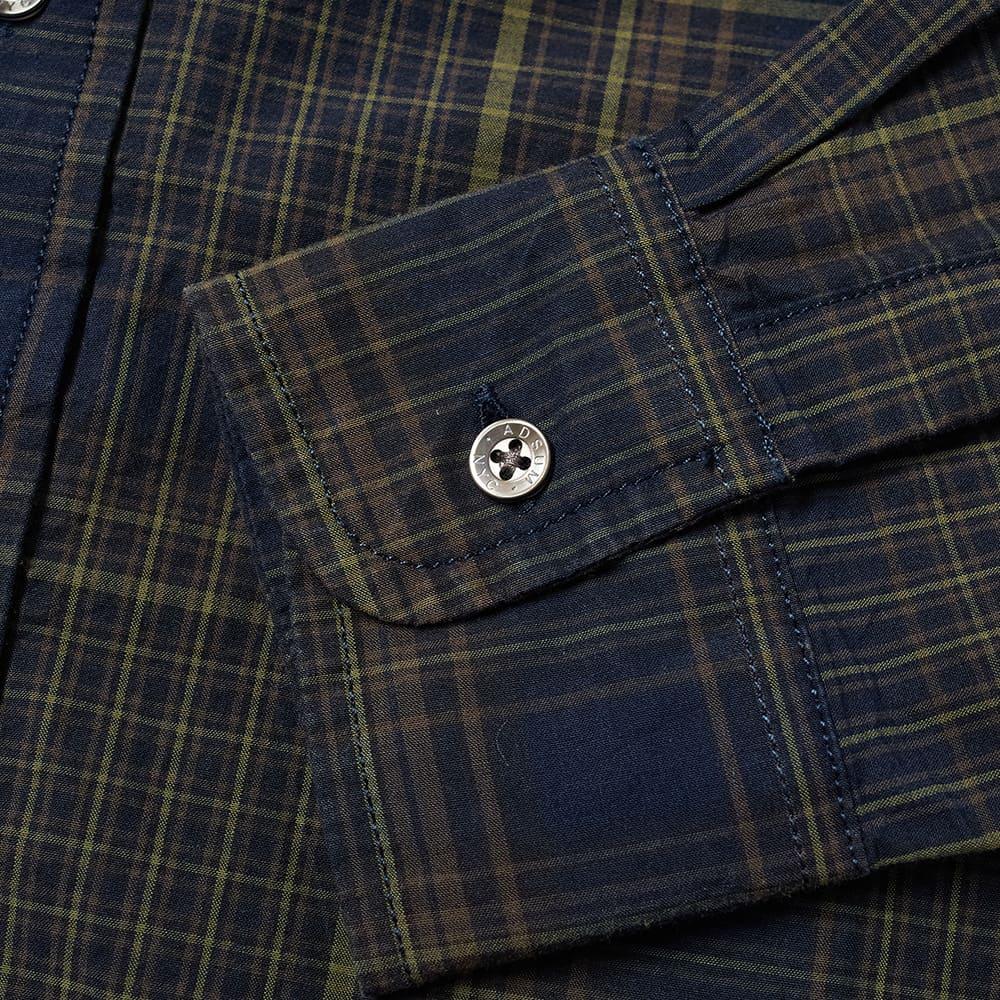 Adsum Button Down Madras Premium Shirt - Dark Madras
