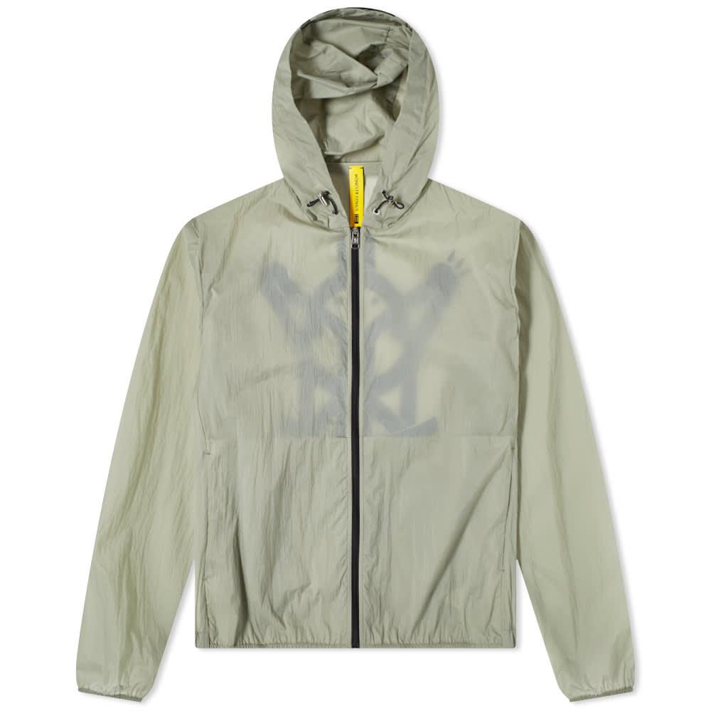 5 Moncler Craig Green Oxybelis Graphic Lightweight Jacket - Olive