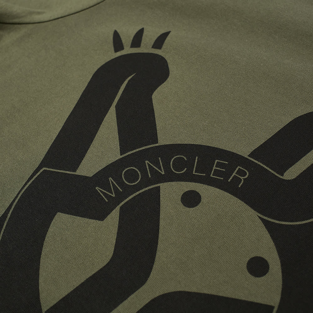 5 Moncler Craig Green Magila Logo Tee - Olive