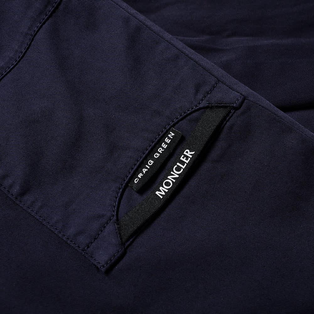 5 Moncler Craig Green Garment Dyed Chino - Navy
