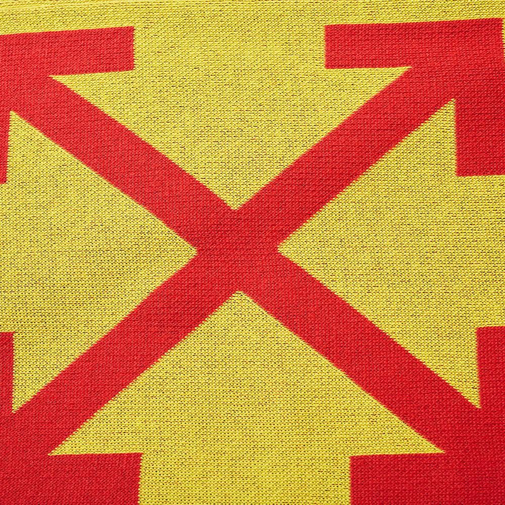 Off-White Arrows Scarf - Maize & Samba