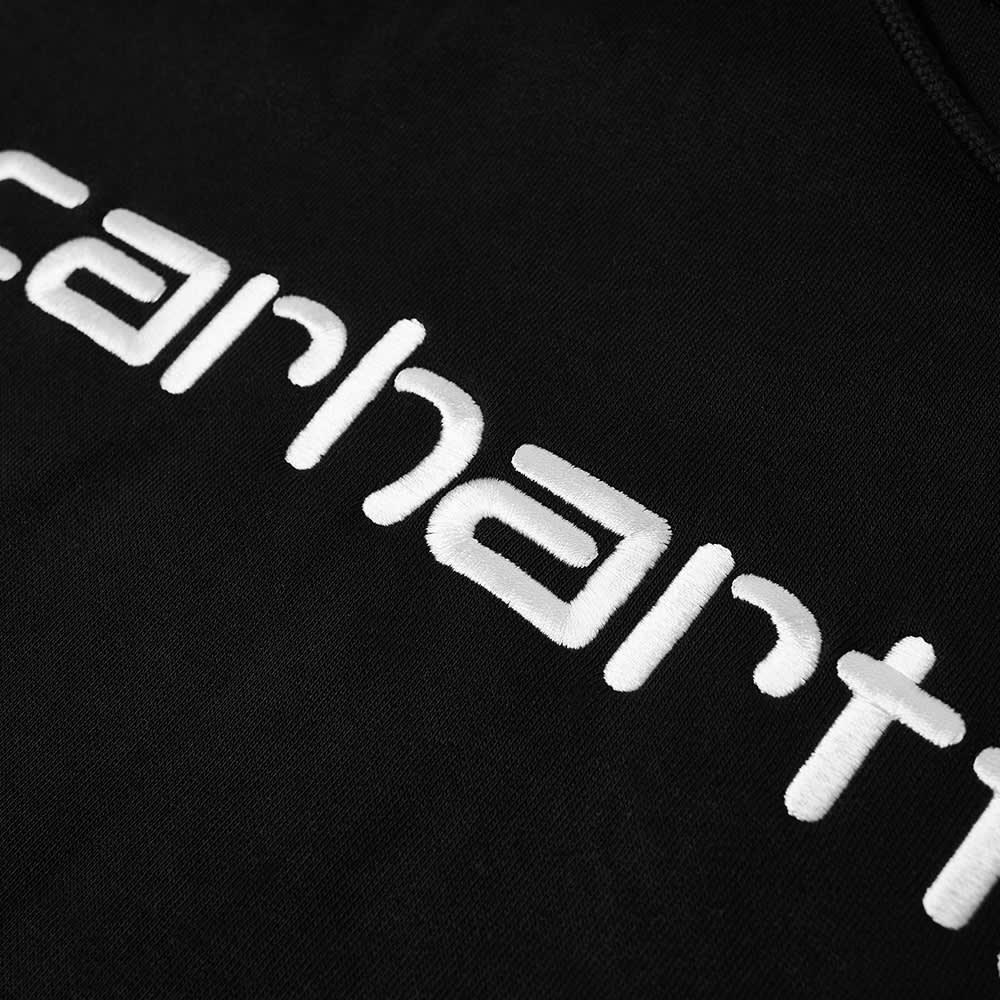 Carhartt WIP Hooded Carhartt Sweat - Black & White