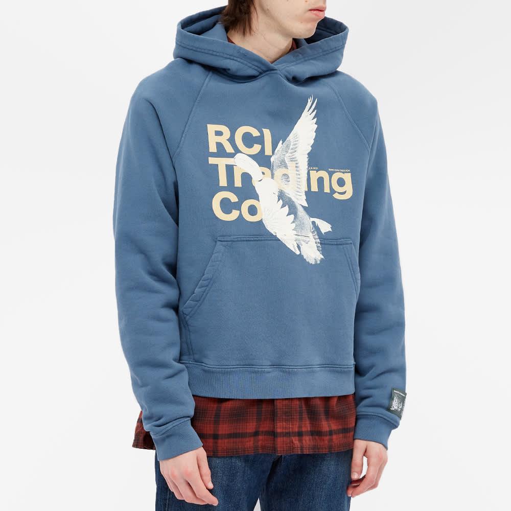 Reese Cooper RCI Duck Print Hoody - Slate