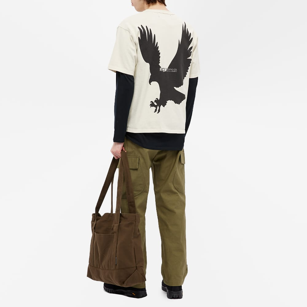 Reese Cooper Eagle Of A Different Feather Tee - White