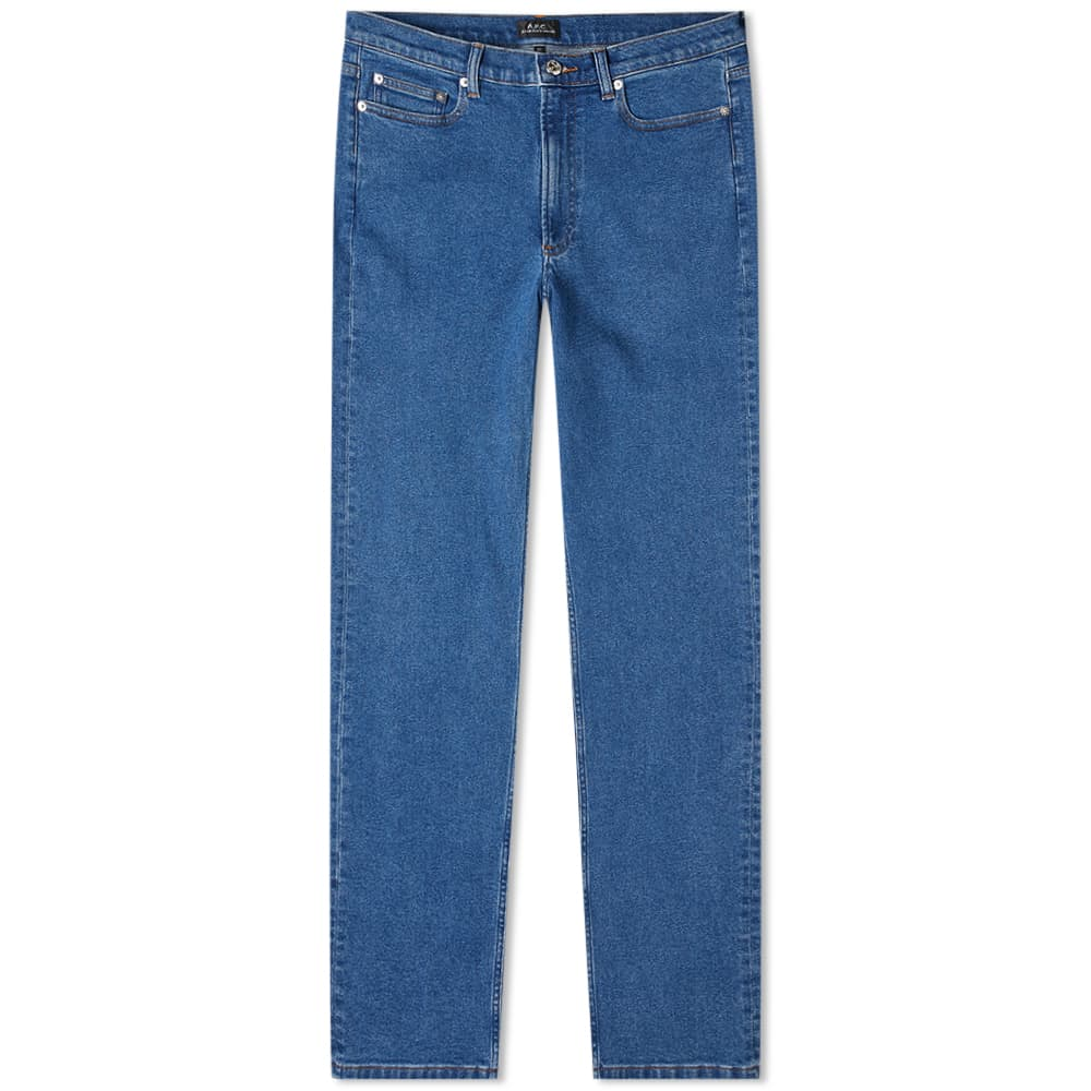 A.P.C. Middle Standard Jean - Washed Indigo
