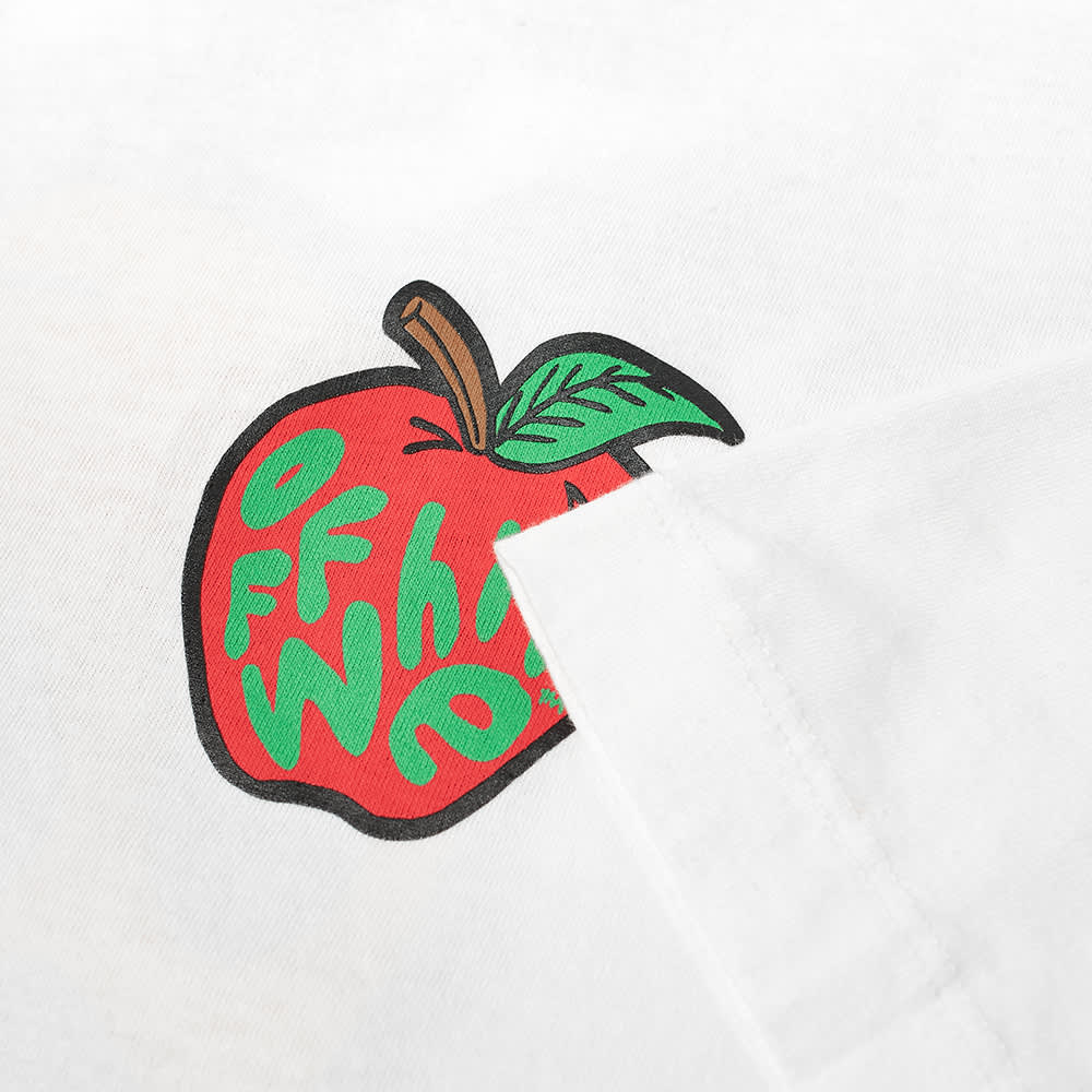 Off-White Apple Over Tee - White & Red