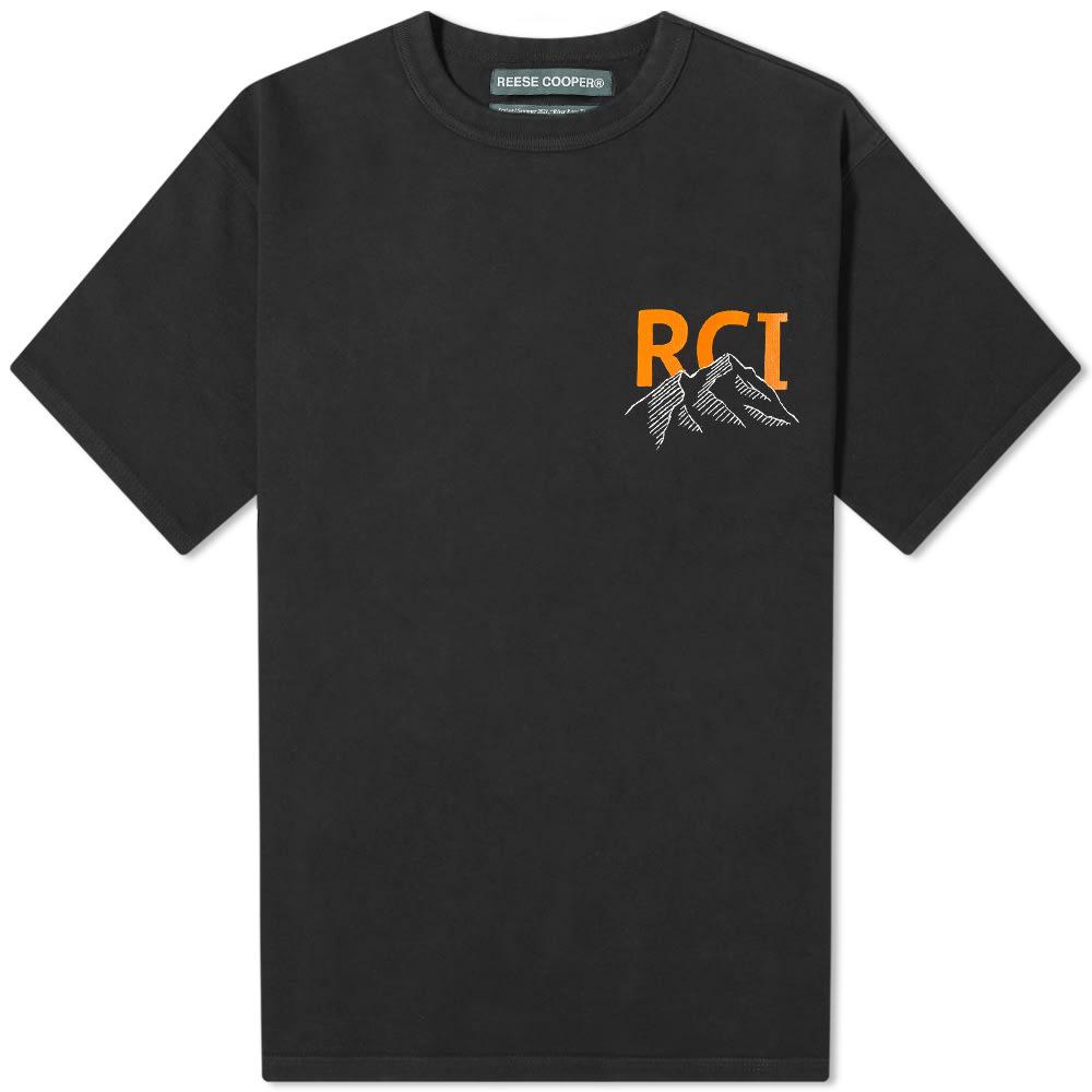 Reese Cooper Mountain Logo Tee - Black