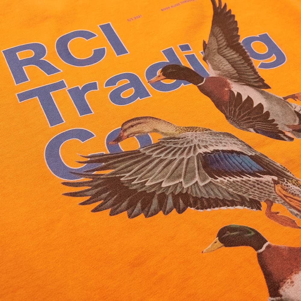 Reese Cooper Duck Print Tee - Orange