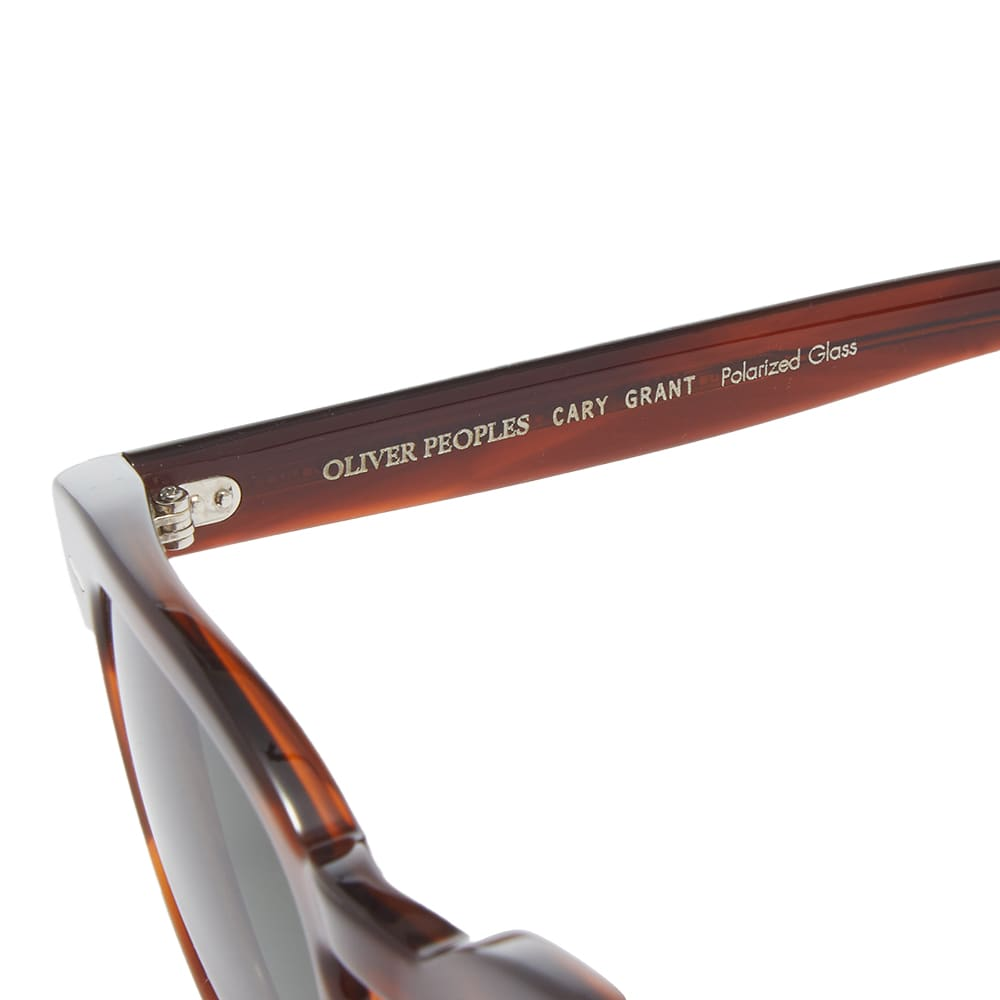 Oliver Peoples  Cary Grant Sunglasses - Tortoise & Green