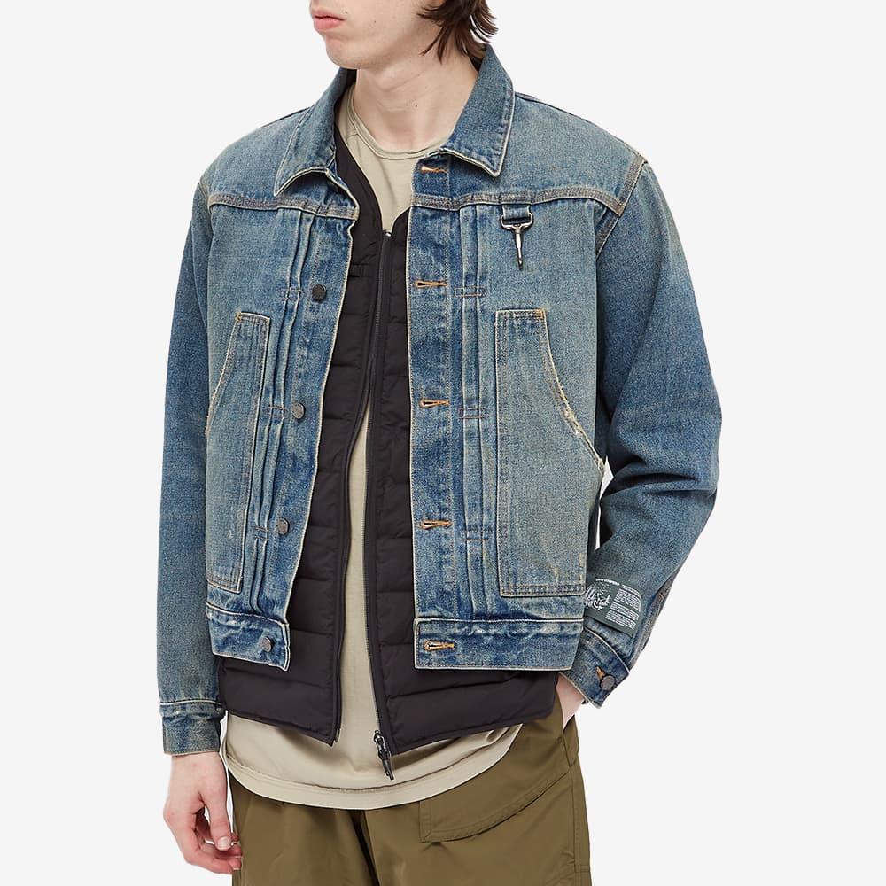 Reese Cooper Washed Denim Jacket - Indigo