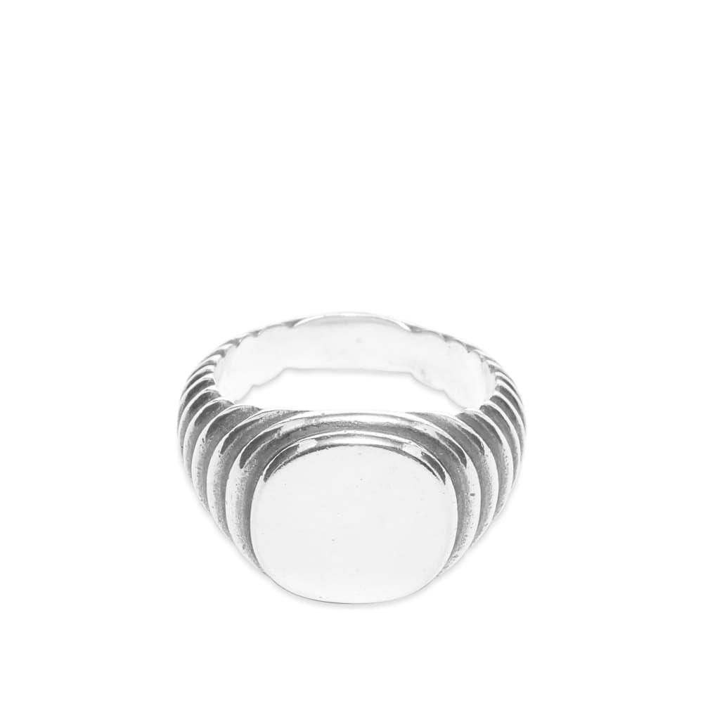 M. Cohen Minia Cuadro Lira Ring - Silver