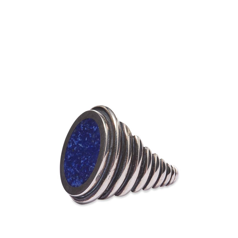M. Cohen Grandia Ovi Lira Ring - Lapis