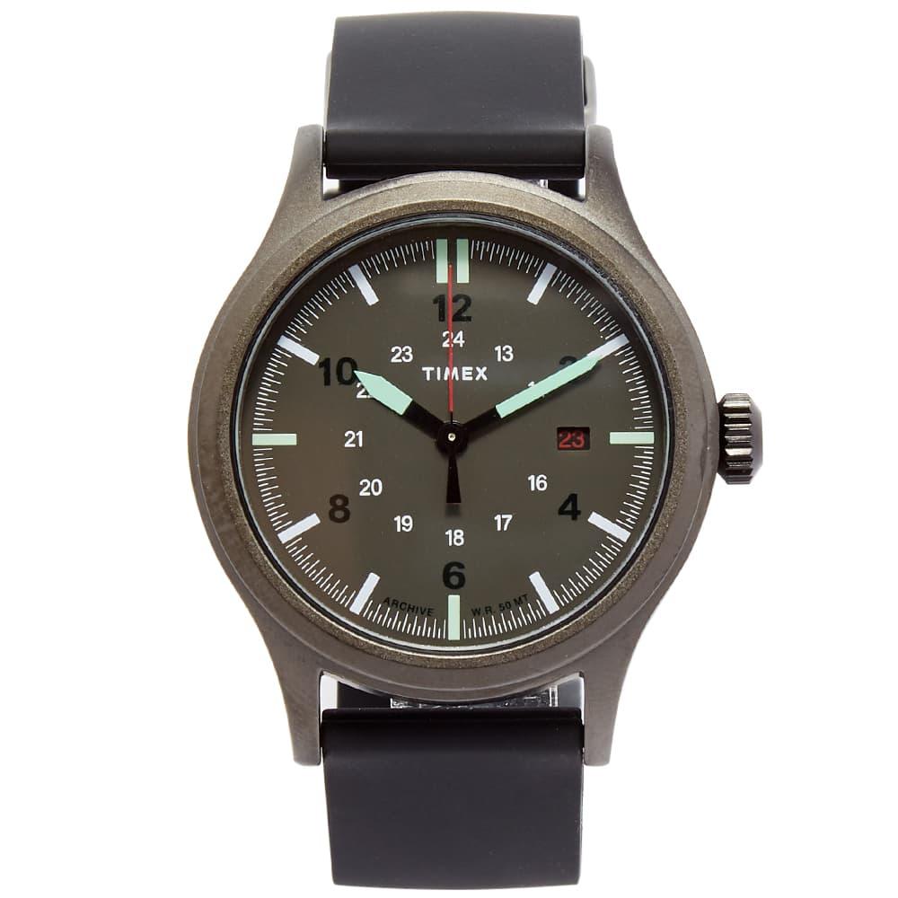Timex Archive Allied 40 Watch - Gunmetal, Grey & Black
