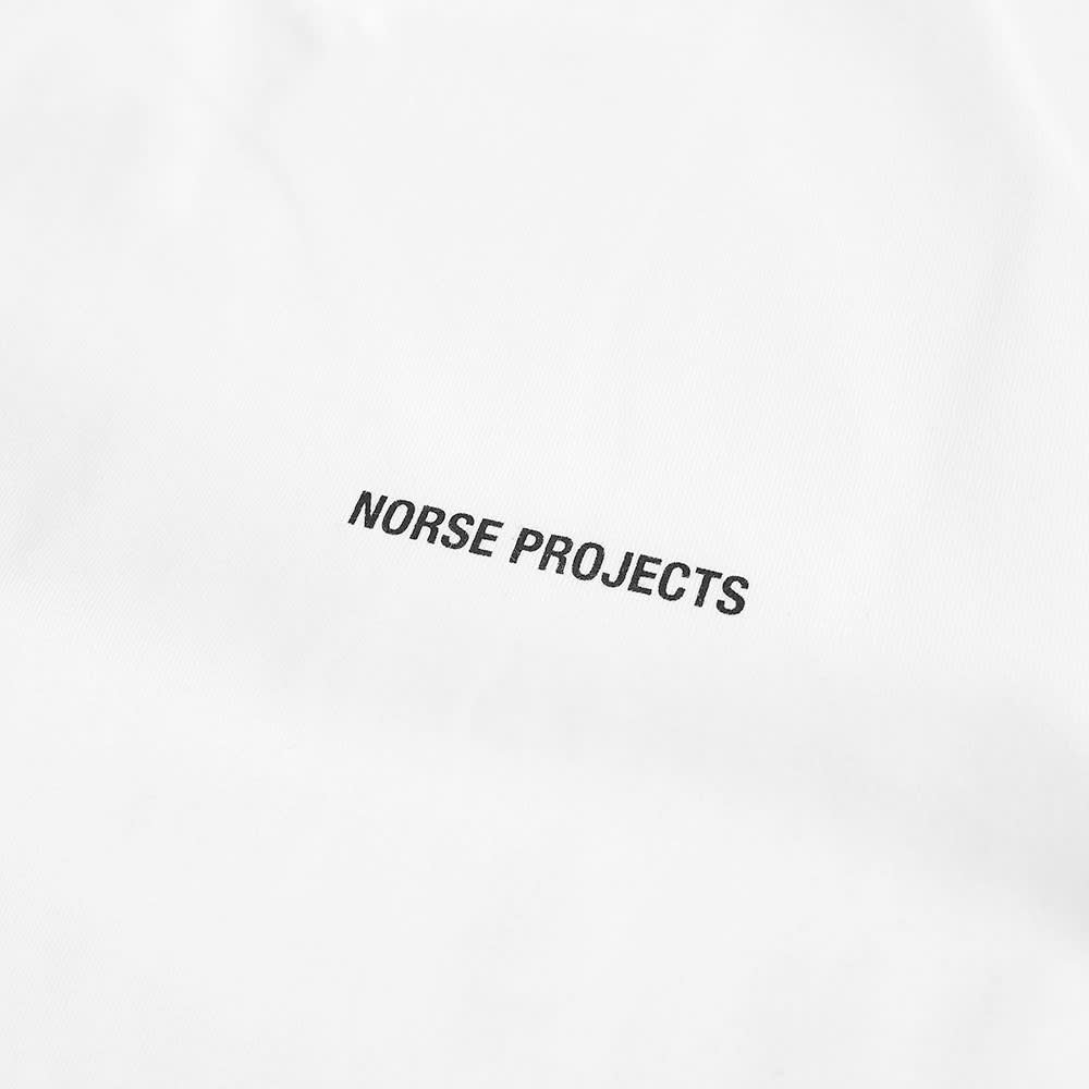 Norse Projects Niels Standard NP Logo Tee - White