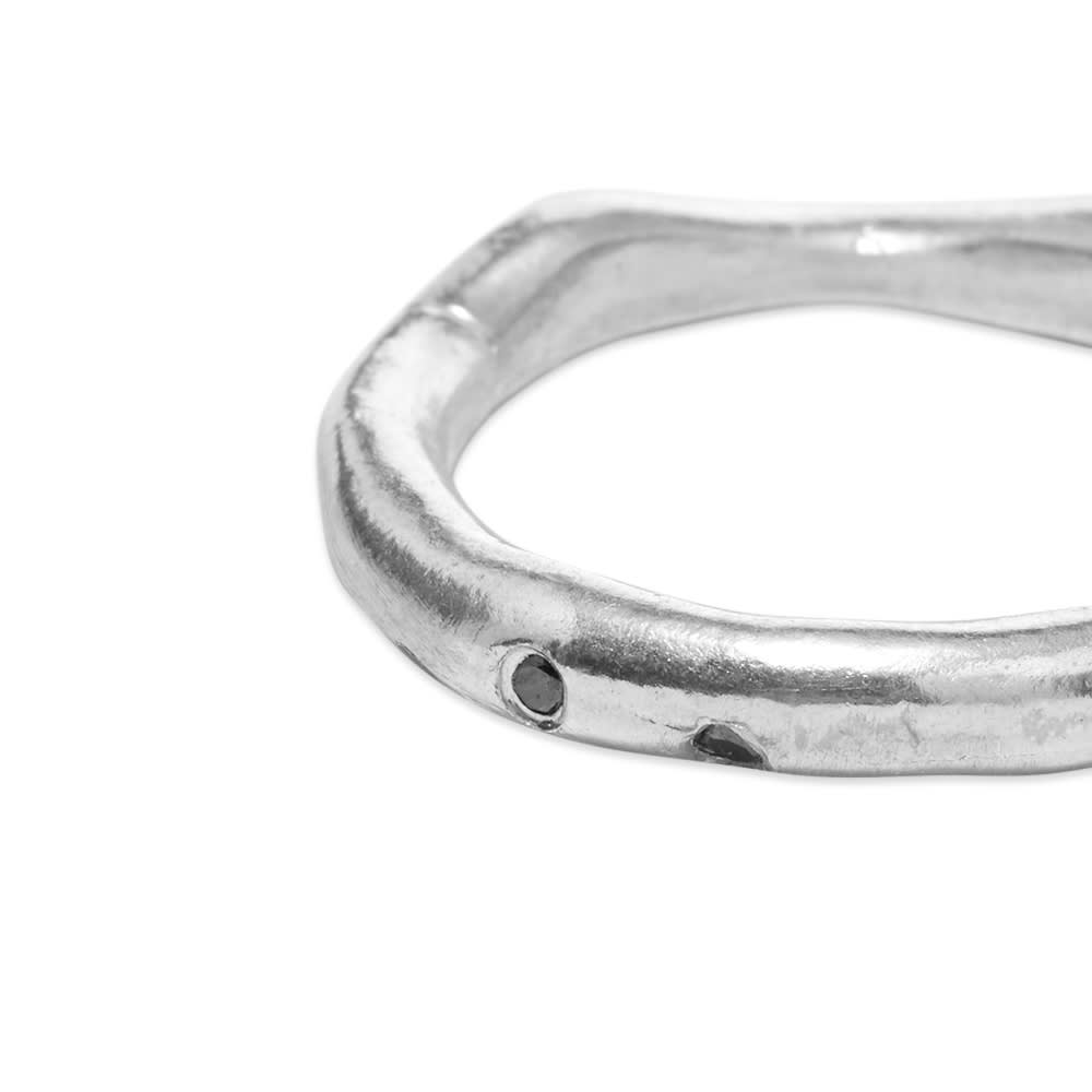 M. Cohen Hand Shaped Ring - Silver