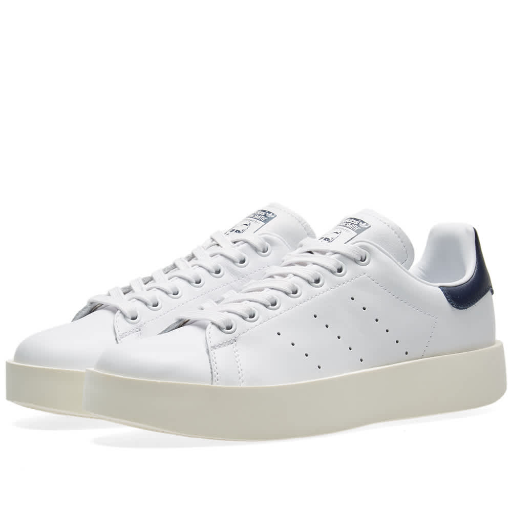Adidas Stan Smith Bold W - White & Navy