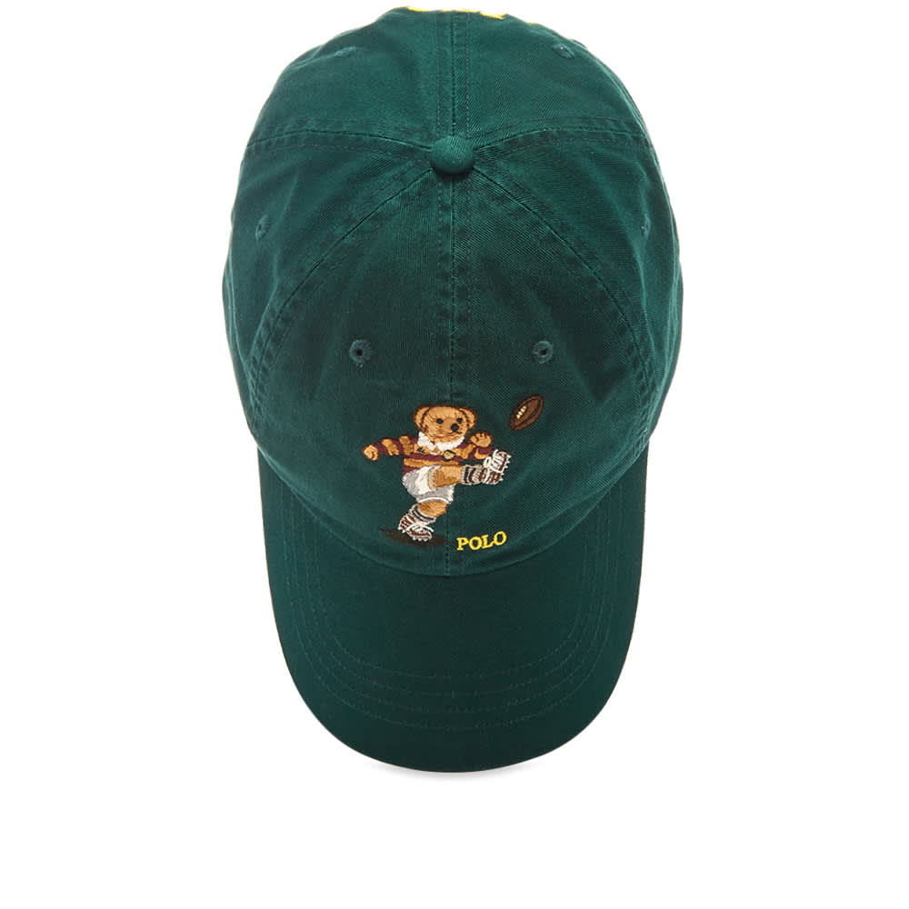 Polo Ralph Lauren Rugby Bear Baseball Cap - College Green