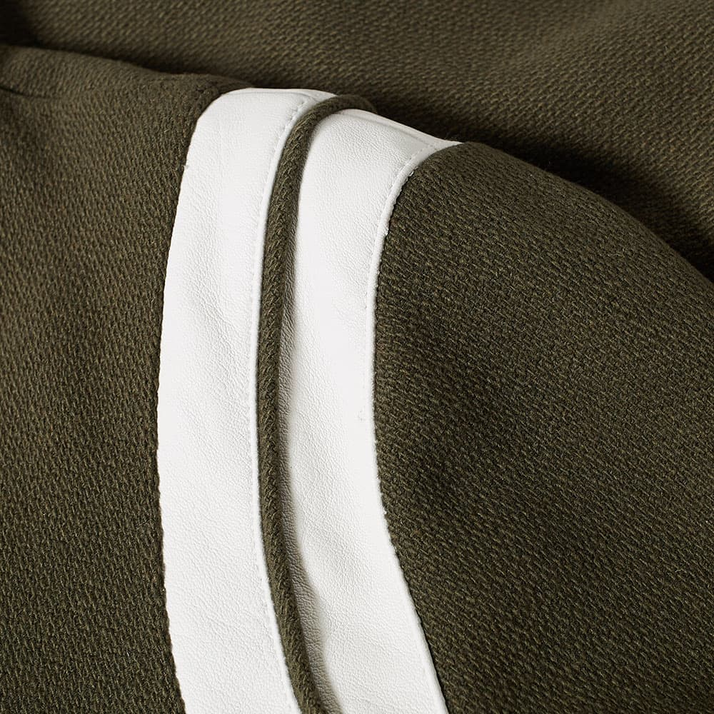 Saint Laurent Heavy Wool Teddy Jacket - Khaki